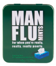 Man Flu Mints Gift Tin